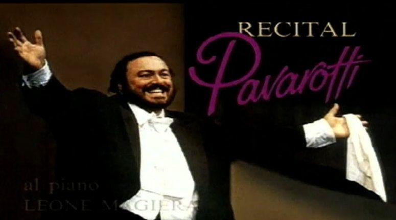 luciano pavarotti recital