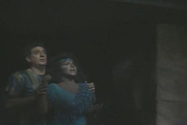 escenas de muerte en la opera aida