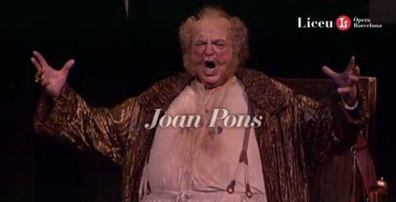 homenaje del liceu a joan pons