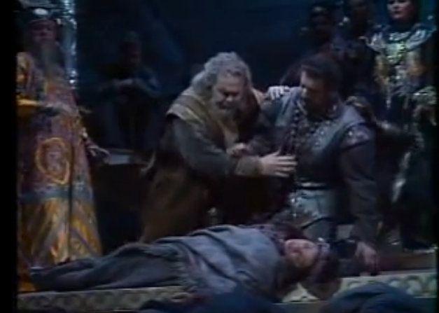 escenas de muerte opera turandot