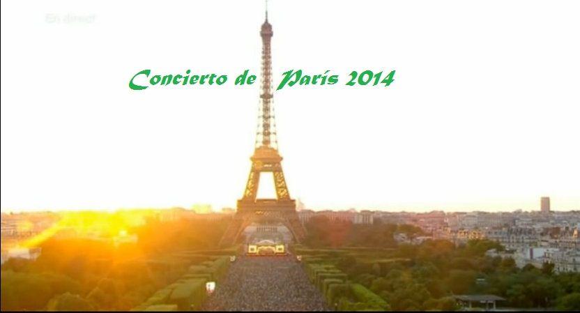 concierto de paris 2014