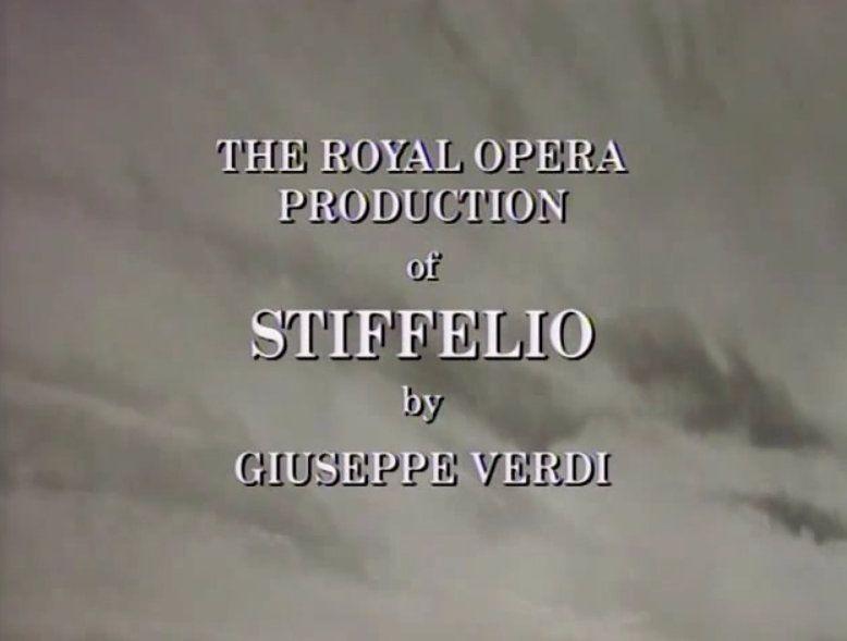 stiffelio operas raras